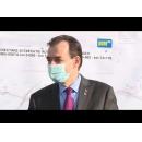 Vizita de lucru a premierului Ludovic Orban, împreună cu vicepremierul Raluca Turcan și ministrul Transporturilor, Lucian Bode la Șantierul Autostrăzii Sibiu – Pitești, Secțiunea 1